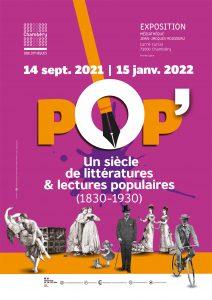 Bannière de l'exposition POP' !